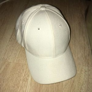 White adjustable hat from LIDS